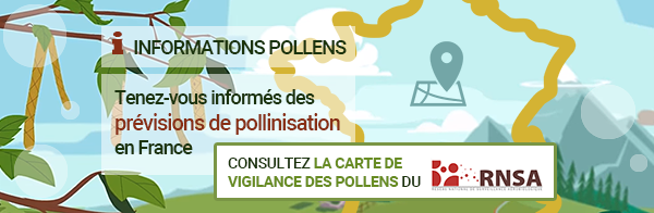 Carte de vigilance des pollens